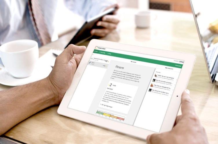 Testresultaten Preventief Medisch Onderzoek te zien op online dashboard Simple Check