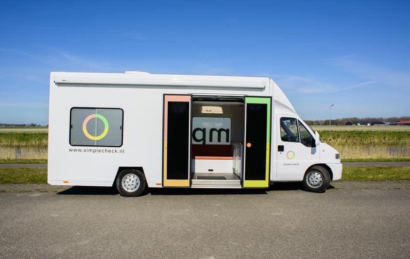 Bus voor Preventief Medisch Onderzoek Simple Check