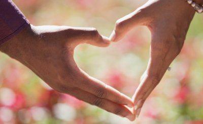 Liefde relatie handen