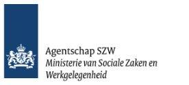 Agentschap SZW Ministerie van Sociale Zaken en Werkgelegenheid