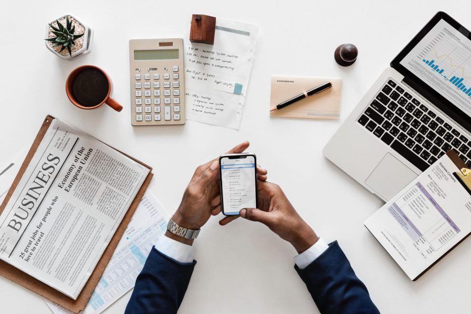 Smartphone week van de werkstress