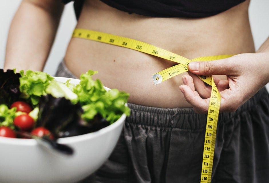 overgewicht terugdringen