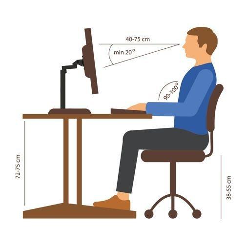 wat-is-een-ergonomische-werkhouding